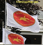 "Official Licensed ""Saratoga 150"" Flag"